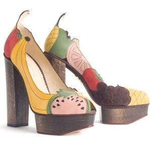 Charlotte Olympia fruit pumps